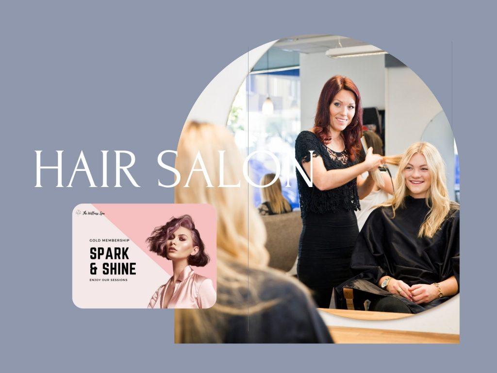 Loyalty Program for Hair Salon, Hair Spa, Hair Studio